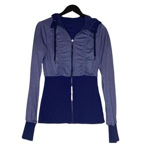 Lululemon Reversible Dance Studio Purple Jacket